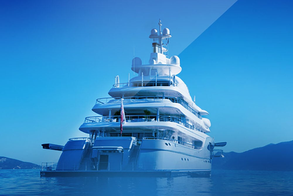 Security for a birthday party and live bands on board 120m Mega-Yacht in Florida