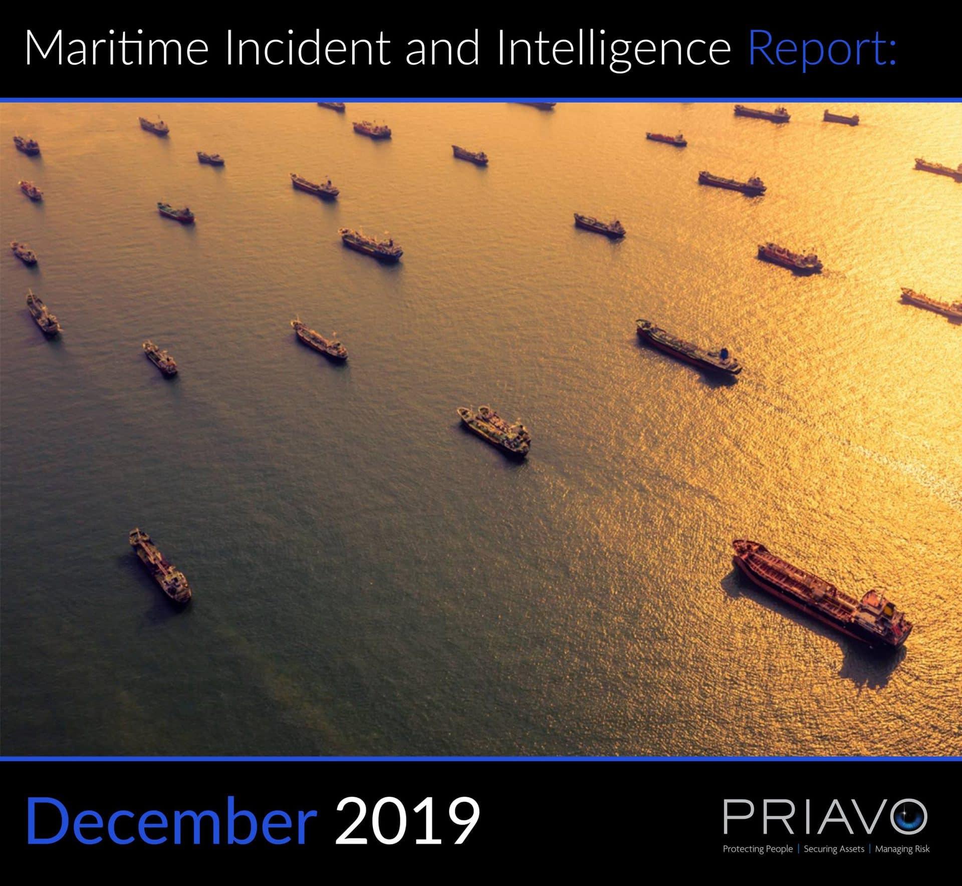 Maritime Incident Report: December 2019