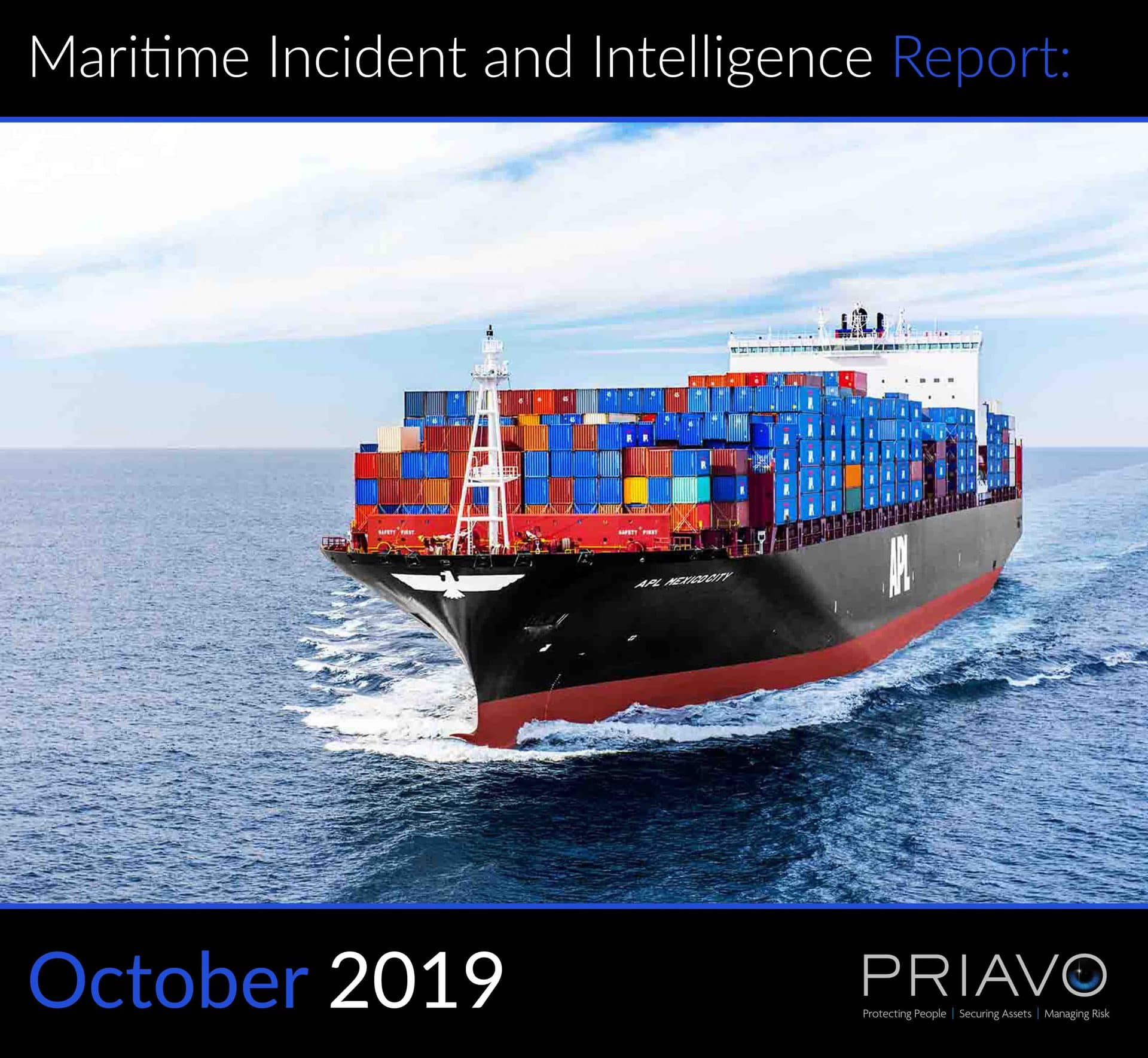 Maritime Incident Report: October 2019