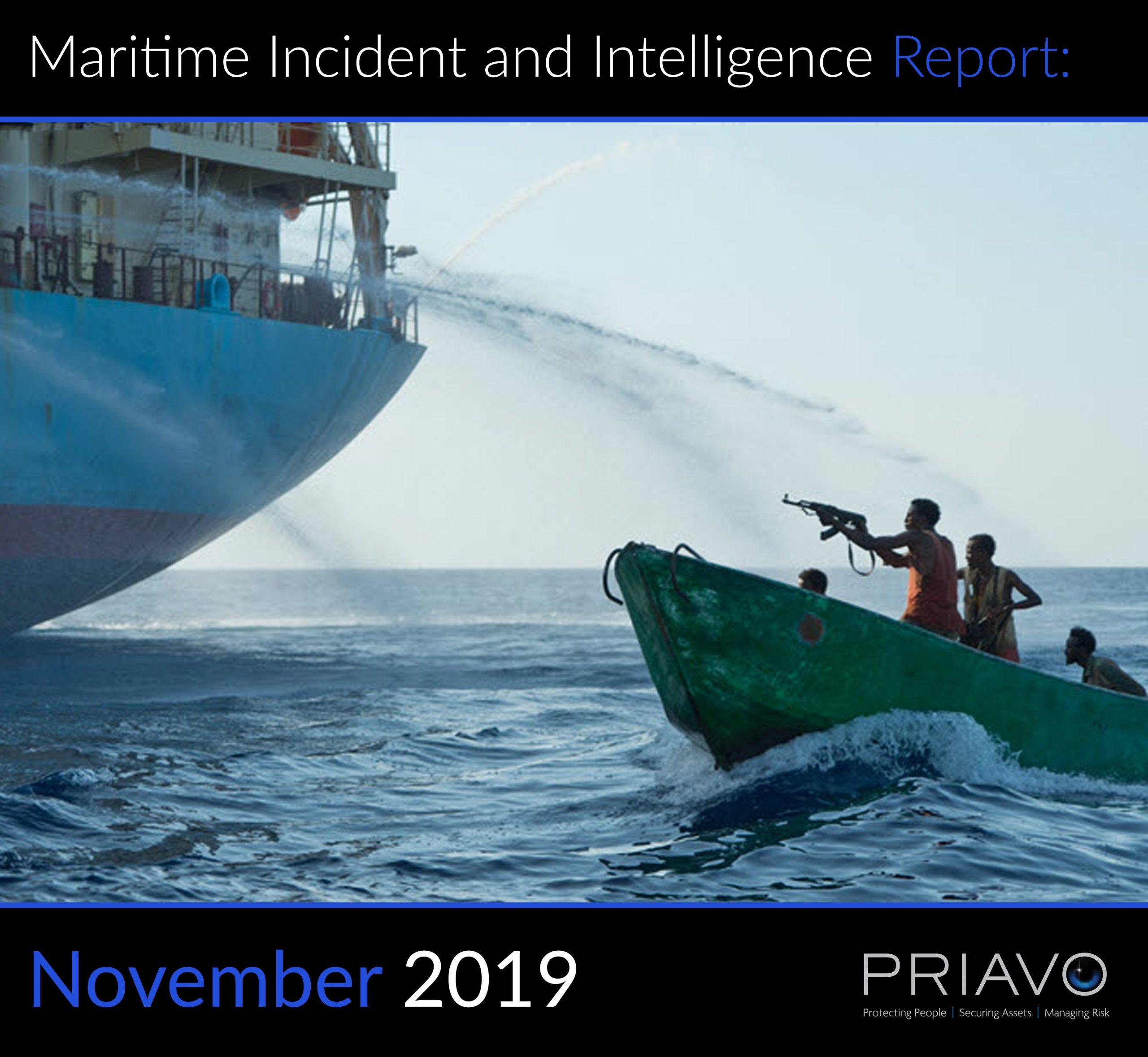 Maritime Incident Report: November 2019