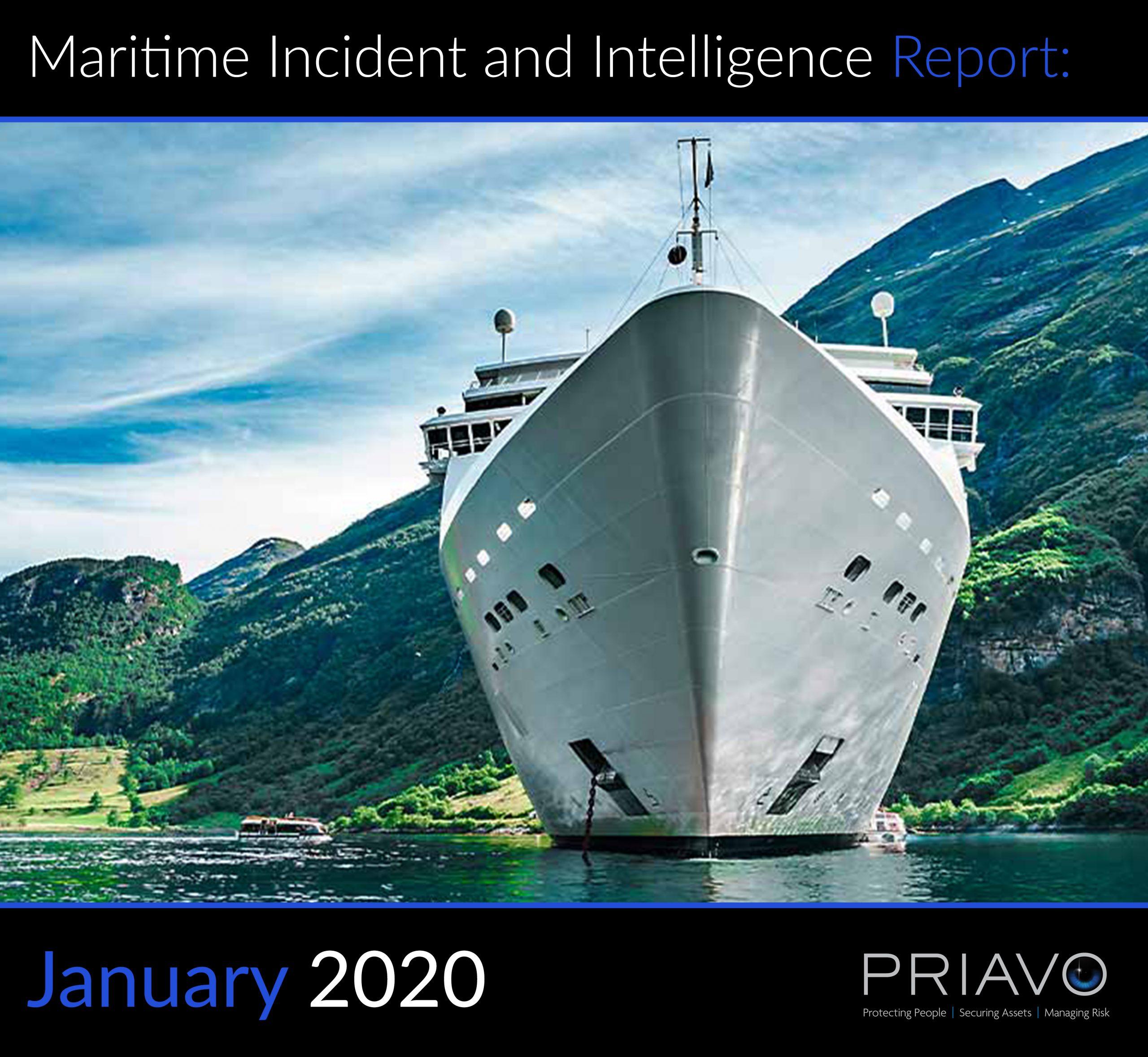 Maritime Incident Report: January 2020