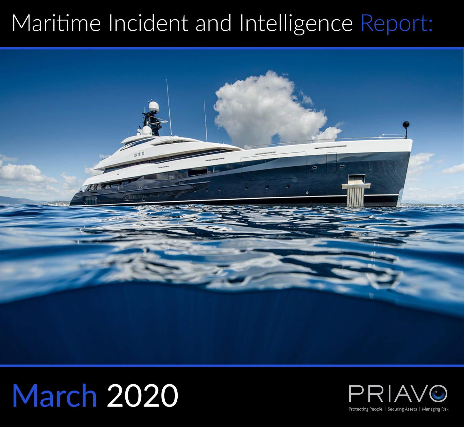 Maritime Incident Report: March 2020