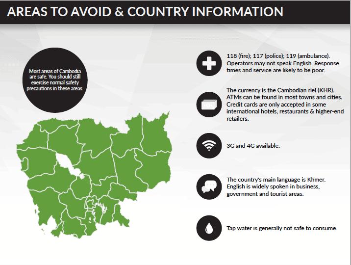 Travel Risk Report: Cambodia