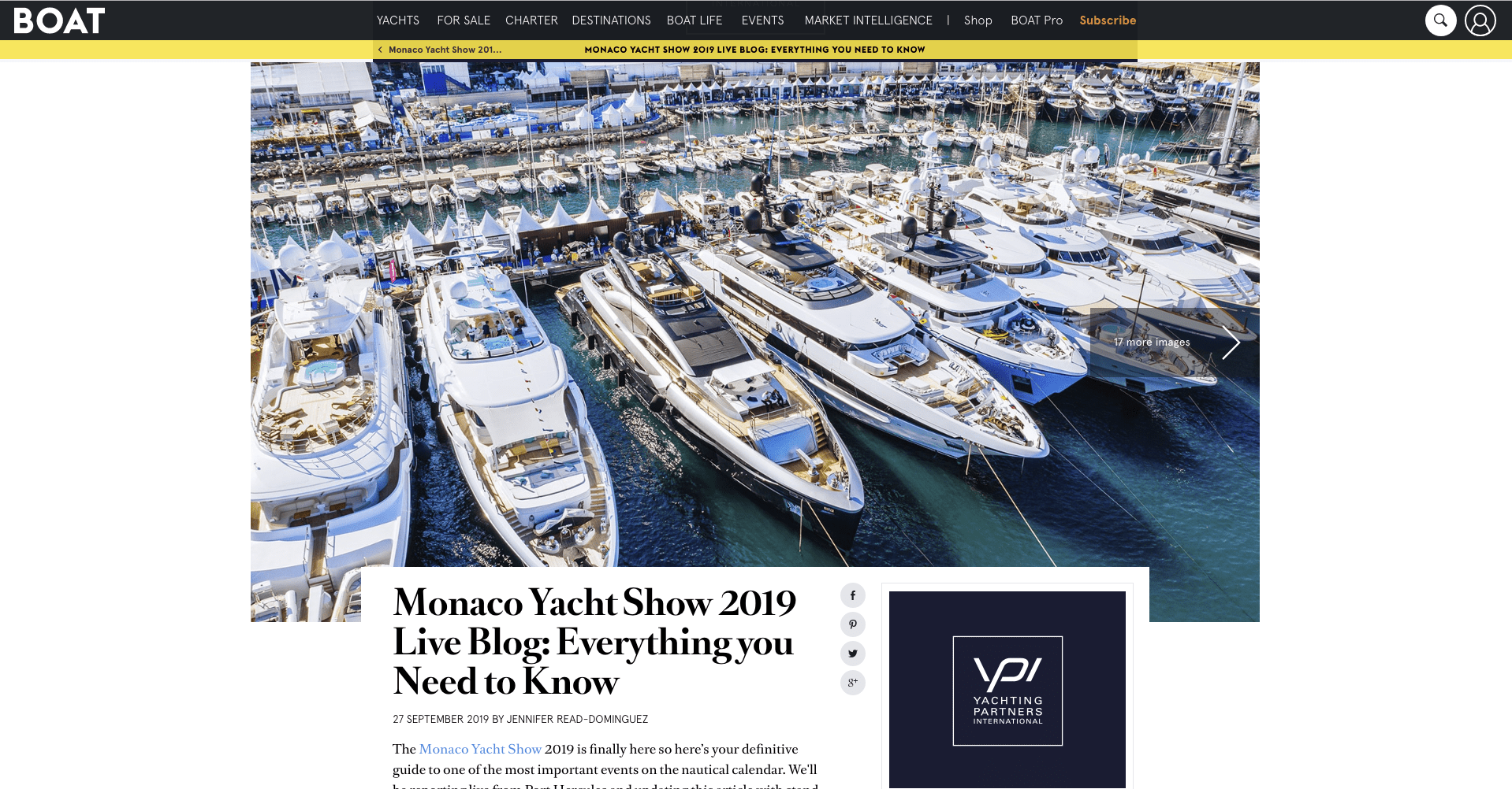 Boat International: MYS Cyber Review
