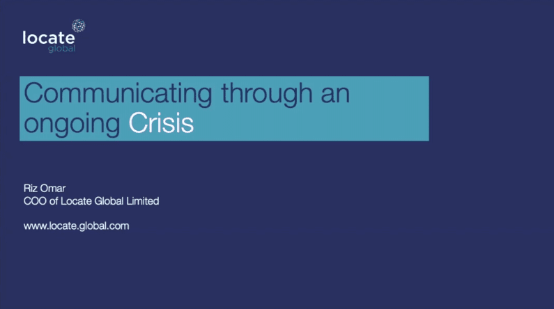 Locate Global Webinar Series | Crisis Comms