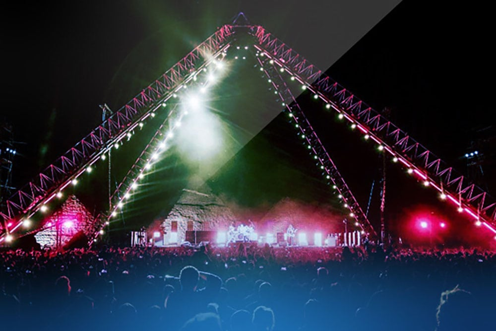Music Tour And Event Security: The Pyramids at Giza